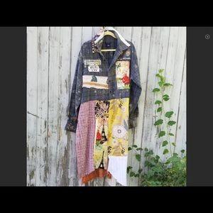 Jackets & Blazers - HAND MADE BOHO JACKET